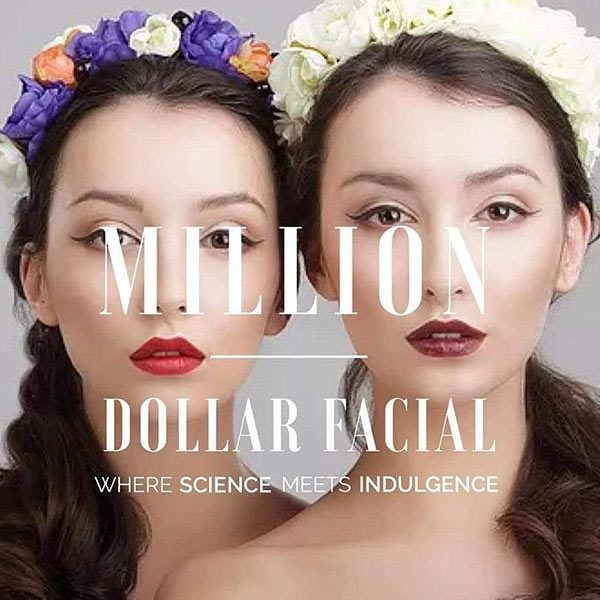 Million Dollar - Face & Body treatments available at Skin NI